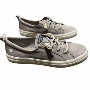 Sperry top sider grey shoes
